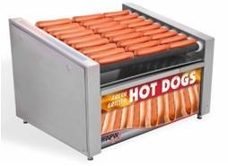 "APW Wyott HR-31BC Hot Dog Grill with Bun Cabinet, HotRod, Roller-Type. 23-3/4"" x 1"