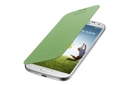 Samsung Galaxy S4 Flip Cover Folio Case (Green)