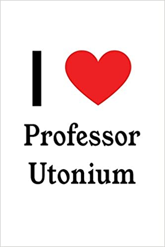 i love professor utonium professor utonium designer notebook