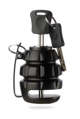 Deemeed Grenade Motorcycle Disc Lock (FLAT BLACK)
