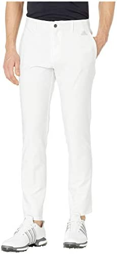 [adidas(アディダス)] Pants Ultimate 3-Stripes Tapered Pants White 38 (W: 97cm) 30 [並行輸入品]