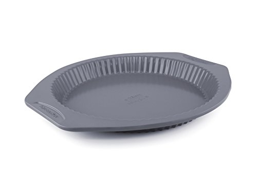 GreenPan 10 Inch Carbon Steel Non-Stick Ceramic Tart Pan by GreenPan
