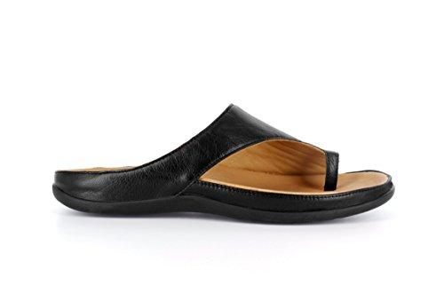 Nero Sandalo Plantare Calzature Sforzano Si Elegante Capri w0gxpB0qt