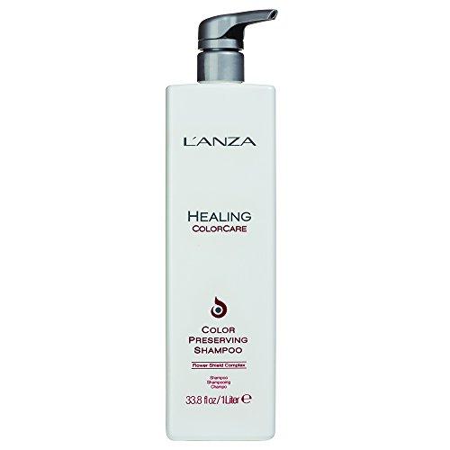 (L'ANZA Healing Colorcare Color-Preserving Shampoo, 33.8)