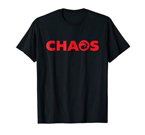 (Chaos Red Magic Funny Shirt for Men Women and Kids)