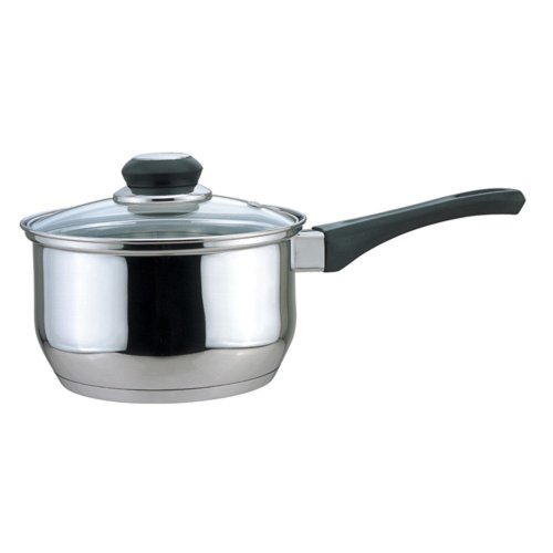 Culinary Edge 01002 Saucepan with Glass Cover, 2-Quart