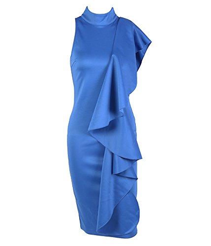 Missord - Vestido - Noche - Sin Mangas - para Mujer Azul