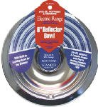 Stanco Range Reflector Bowl Fits Ge, Hotpoint & Kenmore Ranges Produced Since 1990 Hd Chrome, Porcel