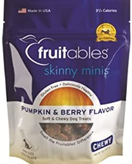 product image for Fruitables - Skinny Minis Pumpkin & Berry Chewy Treats 5 oz (12 pack)