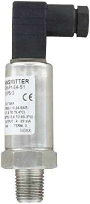 Dwyer Instruments 626-10GH-P1-E1-S1 Industrial Pressure Transmitter, Stainless Steel, General Hosing, 0-100 PS