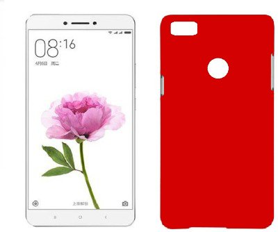 pretty nice 6e8a4 269c8 Mi Max Back Cover - Red by Johra Rubberised Slim Hard Back Cover Case for  Xiaomi Mi Max Back Cover