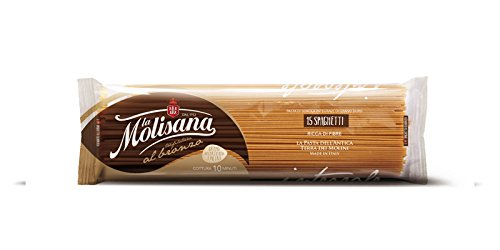 La Molisana Spaghetti Whole Wheat 15, 1 Pound (Pack of 18)