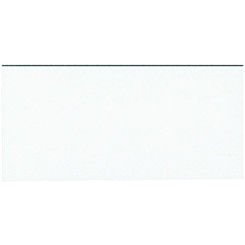 """New Aviditi LH183 Magnetic Warehouse Labels Strip, 6"""" Length x 3"""" Width, White (Case of 25) hot sale"""