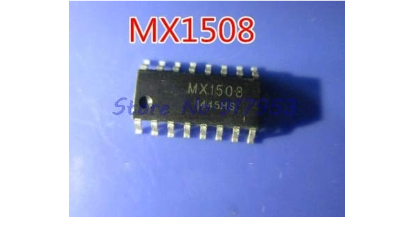 10pcs//lot MX1508 SOP-16 Quad Dual-Channel Brushed DC Motor Driver IC in Stock