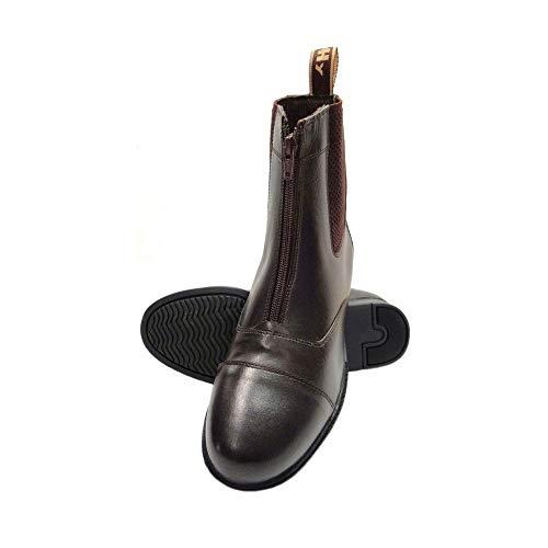 HyLAND Adults Canterbury Zip Jodhpur Boots (10 US) (Brown)