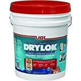 Drylok Latex Base Masonry Waterproofer Latex Interior/Exterior Smooth Finish White 5 Gl 15 Yr Warran