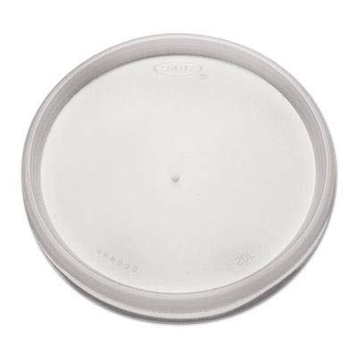 Dart 20JL Translucent Plastic Vented Lid 100-Pack (Case of 10) ()