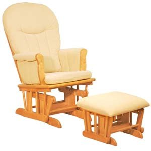 Glider Chair, Color Natural