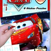 Disney Pixar Cars Sticker Puzzles - Book 1 (Book Of Puzzles)