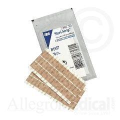 "3M Steri-Strip Blend Tone Skin Closures (Non-reinforced) - 1/2"" x 4"" - 6 strip envelope - - Box of 50"