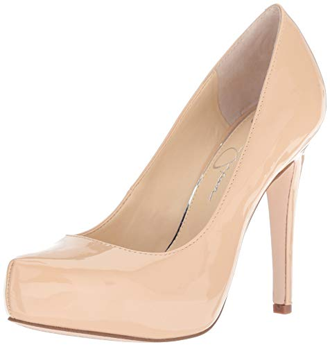 (Jessica Simpson Women's PARISAH Pump, Sand Dune, 8.5 M US)