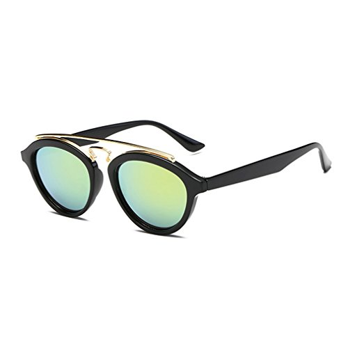 G&T European Unique Style Personality Lady Colorful Lens Wayfarer - Frames Spectacle Lightest