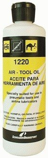 Light Pneumatic Tool Oil - 12 Pack Amflo 1220-4 Light Pneumatic - Air Tool Oil - 4 oz