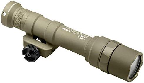 M600U-Z68-TN Scout Light, 6V, M75 Thumb Screw Mount, 600 Lumens, Tan, Z68 Click On Off Tailcap