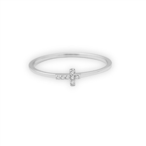 Miore - MF8015RWP - Bague Femme - Or blanc 750/1000 (18 carats) 1.3 gr - Diamant