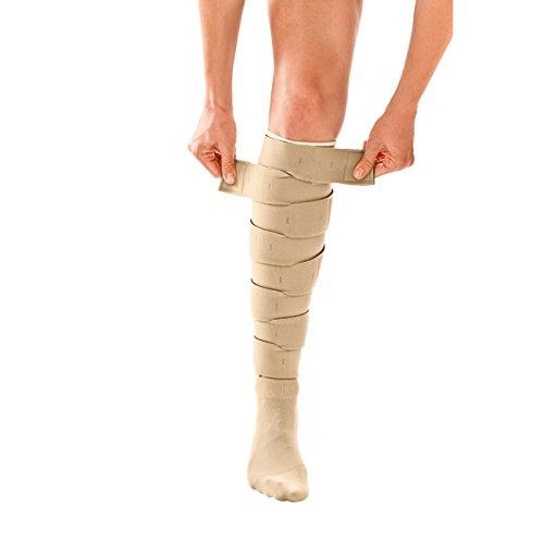Circaid Juxta Fit Essential Short Lower Legging, XL Full Calf, 28cm into ''circaid Juxtafit Essentials Lower Leg adjustable compression wrap by CircAid
