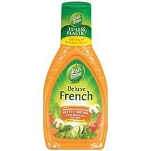 - Wishbone Deluxe French Dressing 8 Oz (Pack of 3)