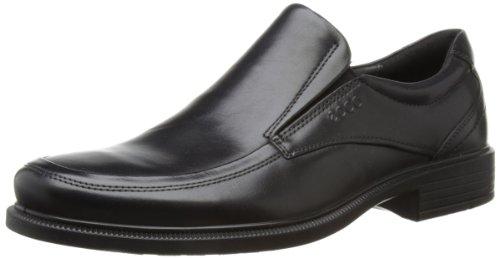 ECCO Men's Dublin Apron Toe Slip-On Oxford,Black,47 EU/13-13.5 M ()