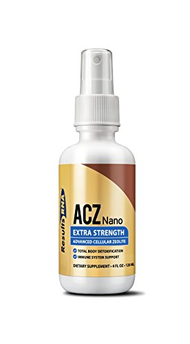 Set Stomach Relief Liquid - Results RNA ACZ Nano Advanced Cellular Zeolite Extra Strength | Great For Total Body Detoxification and Immune System Health - 4oz Bottle