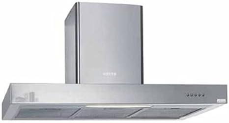 Edesa URBAN-BOX61X 780 m³/h De pared Acero inoxidable - Campana (780 m³/h, Canalizado/Recirculación, 72 dB, 55 cm, 65 cm, De pared): Amazon.es: Hogar