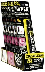 Bulk Buy: Goo Gone Mess Free Pen 12 Piece Display .34 Ounce GGPEN (12-Pack) by Goo Gone