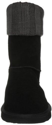 Lily Black Calf Damen Boots Ukala Mid Charcoal fw5Xx1