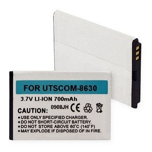 Utstarcom 8630 Coupe (Audiovox COUPE Cell Phone Battery (Li-Ion 3.7V 700mAh) - Replacement For Utstarcom CDM-8630 Cellphone Battery)