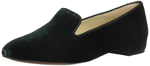 Sam Edelman Women's Jordy Loafer Dark Green Velvet