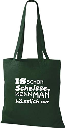 Algodón De Tela Bolso Para Verde Shirtstown Mujer qwBUnE