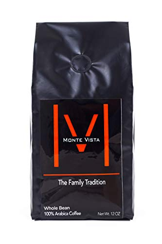 - MONTE VISTA CRAFT COFFEE -12oz WHOLE BEAN-Honduran Specialty Coffee-MICRO-BATCH ROAST-Medium Roast, STRICTLY HIGH GROWN with floral notes and CHOCOLATE FINISH!