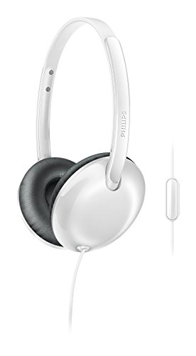 Philips SHL 4405WT/00 Headphones with Mic (White)