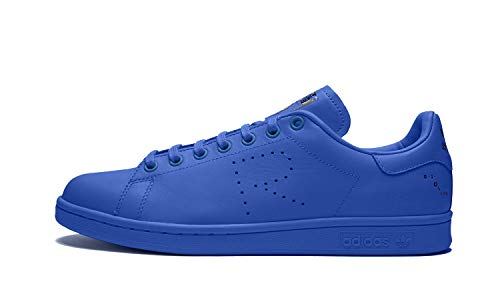 adidas by RAF Simons Unisex RAF Simons Stan Smith Power Blue/Mystery Ink/Footwear White 10 M UK