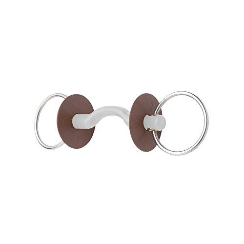 Trense 2Ringe zu Übergang von Sprache 130mm Durchmesser Ringe 7,5cm, Canon Soft 5cm BERIS