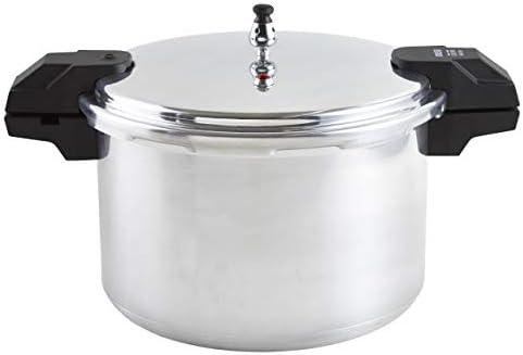 A417 80807 Stovetop Pressure Cooker Silver