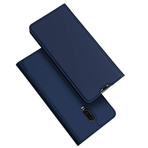 DUX DUCIS Case for OnePlus 6T, DUX DUCIS [Skin Pro Series] PU Leather Flip...