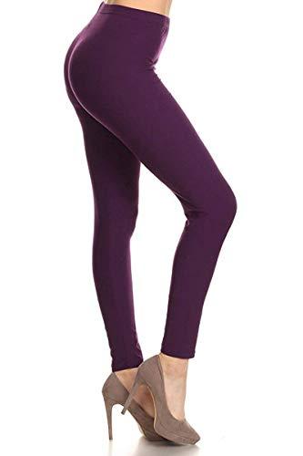 Leggings Depot High Waisted Leggings -Soft & Slim – Solid Colors & 1000+ Prints