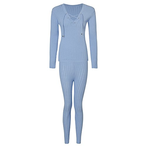 Coste Lace Uk Loungewear Tie amp;ayat Donna Fashions Coordinare Momo 8 Taglia up A nbsp; Maglia qSY1Ixpw