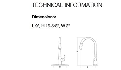 KOHLER Simplice Single-Hole Pull-Down Kitchen Faucet from KOHLER