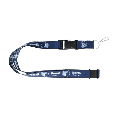 aminco NBA Memphis Grizzlies NBA-LN-095-22 Lanyards, One Size, Team Colors from aminco