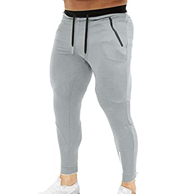 YKARITIANNA Summer New Men Splicing Printed Overalls Casual Pocket Sport Work Casual Trouser Pants